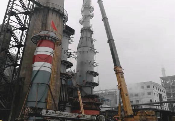 500T南川铝厂设备安装工程