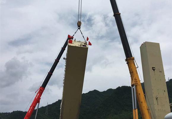 黔江设备吊装工程
