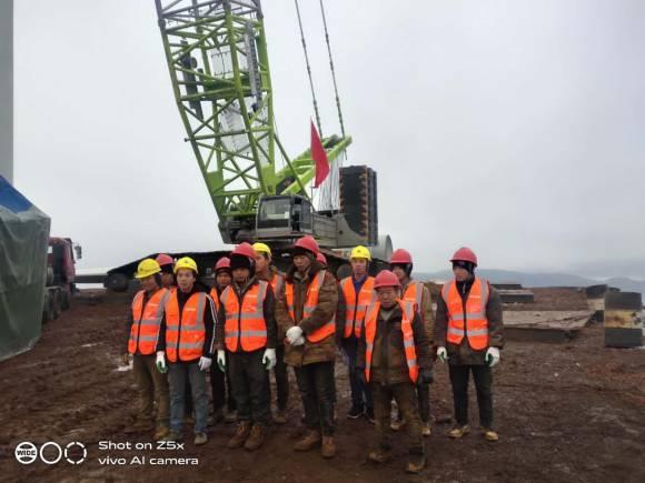 贵州威宁幺站一期风电场风力发电机组、塔架及附属设备安装调试工程
