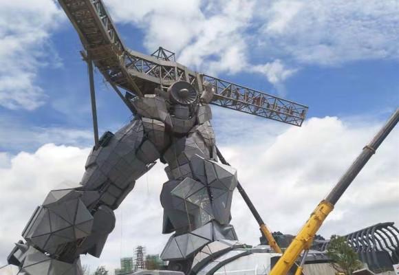 180T贵阳机器人吊装工程