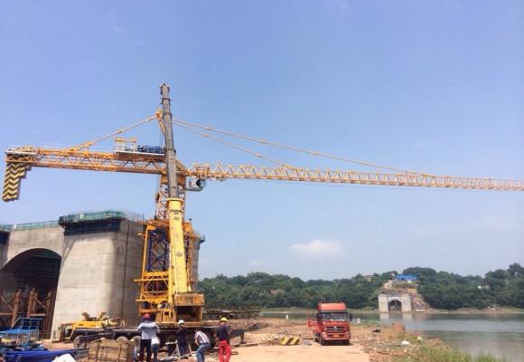 400T合江塔吊安装工程